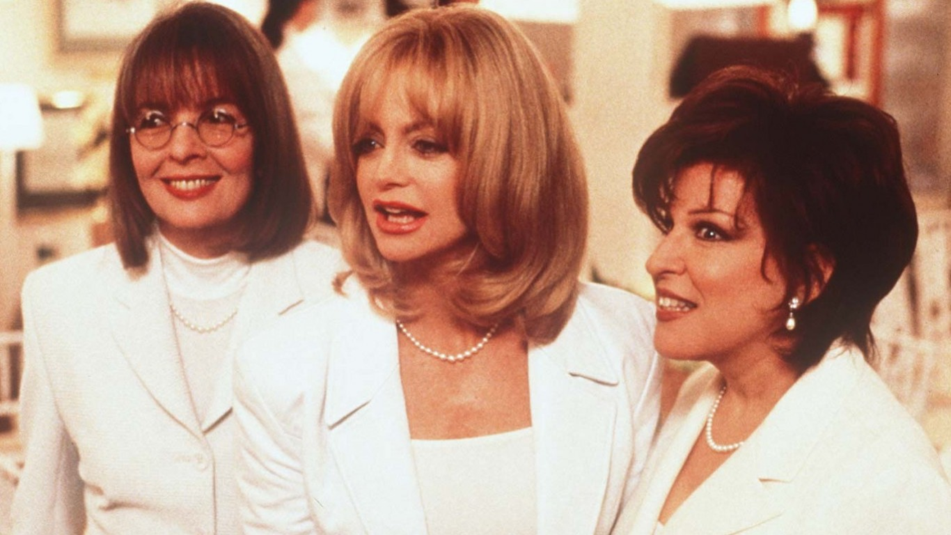 Goldie Hawn, Bette Midler And Diane Keaton Reuniting For New Film
