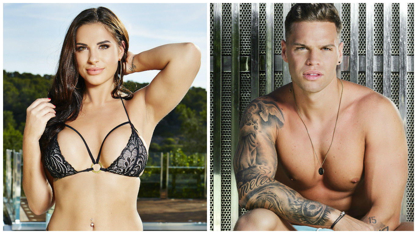 Birthday girl Jess has first Love Island romp with Dom